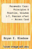 cover of Paramedic Care: Principles & Practice, Volumes 1-7, Pearson eText -- Access Card (4th edition)