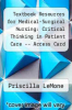 cover of Textbook Resources for Medical-Surgical Nursing: Critical Thinking in Patient Care -- Access Card (5th edition)
