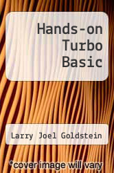 Cover of Hands-on Turbo Basic EDITIONDESC (ISBN 978-0133834987)