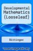 cover of Developmental Mathematics (Looseleaf) (9th edition)