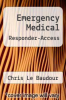 cover of Emergency Medical Responder-Access (10th edition)