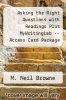 cover of Asking the Right Questions with Readings Plus MyWritingLab -- Access Card Package (1st edition)