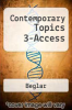 cover of Contemporary Topics 3 Streaming Video Access Code Card (3rd edition)