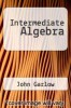 cover of Intermediate Algebra (2nd edition)