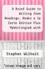 cover of A Brief Guide to Writing from Readings, Books a la Carte Edition Plus MyWritingLab with Pearson eText - Access Card Package (7th edition)