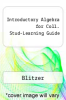cover of Introductory Algebra for Coll. Stud-Learning Guide (7th edition)