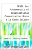 cover of REVEL for Fundamentals of Organizational Communication Books a la Carte Edition Plus REVEL -- Access Card Package (9th edition)