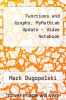 cover of Video Notebook for Precalculus (4th edition)