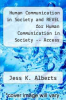 cover of Human Communication in Society and REVEL for Human Communication in Society -- Access CardREVEL for Human Communication in Society -- Access Card (4th edition)