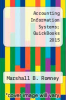 cover of Accounting Information Systems; QuickBooks 2015 (13th edition)