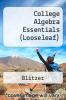 cover of College Algebra Essentials (Looseleaf) (5th edition)