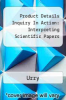 cover of Product Details Inquiry In Action: Interpreting Scientific Papers (11th edition)