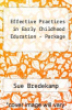 cover of REVEL for Effective Practices in Early Childhood Education (3rd edition)