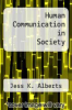 cover of Human Communication in Society (5th edition)