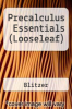 cover of Precalculus Essentials (Looseleaf) (5th edition)