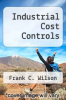cover of Industrial Cost Controls