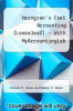cover of Cost Accounting (LooseLeaf) - With MyAccountingLab (16th edition)