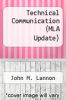 cover of Technical Communication (MLA Update) (14th edition)