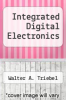 cover of Integrated Digital Electronics (2nd edition)