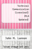 cover of Technical Communication (Looseleaf) (MLA Updated) (14th edition)