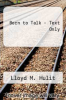 cover of Born to Talk - Text Only (7th edition)