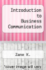 cover of Introduction to Business Communication (2nd edition)