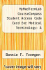 cover of MyMedTermLab CourseCompass Student Access Code Card for Medical Terminology: A Living Language (4th edition)