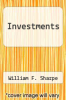cover of Investments (4th edition)