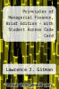 Principles of Managerial Finance, Brief Edition - With Student Access Code Card by Lawrence J. Gitman - ISBN 9780135113400