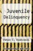 cover of Juvenile Delinquency