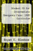 cover of Student CD for Intermediate Emergency Care: 1985 Curriculum (3rd edition)