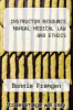 cover of INSTRUCTOR RESOURCE MANUAL MEDICAL LAW AND ETHICS
