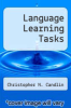 cover of Language Learning Tasks