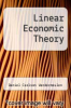 cover of Linear Economic Theory