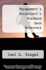cover of Management`s Accountant`s Standard Desk Reference