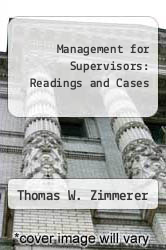 Cover of Management for Supervisors: Readings and Cases  (ISBN 978-0135487921)