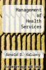 cover of Management of Health Services