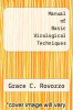 cover of Manual of Basic Virological Techniques