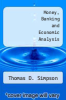 cover of Money, Banking and Economic Analysis (2nd edition)