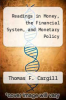 cover of Readings in Money, the Financial System, and Monetary Policy