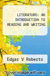 Cover of LITERATURE: AN INTRODUCTION TO READING AND WRITING  (ISBN 978-0136019732)