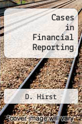 Cover of Cases in Financial Reporting 6 (ISBN 978-0136033219)