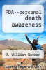 cover of PDA--personal death awareness