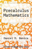 cover of Precalculus Mathematics (2nd edition)