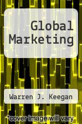 Cover of Global Marketing 6 (ISBN 978-0137024278)