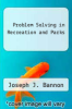 cover of Problem Solving in Recreation and Parks