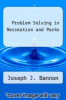 cover of Problem Solving in Recreation and Parks (2nd edition)