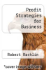 cover of Profit Strategies for Business