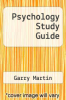 cover of Psychology Study Guide