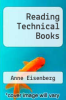 cover of Reading Technical Books